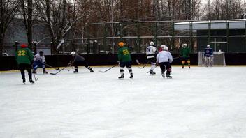 Хоккейная коробка
